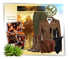 """""""Hunger Games Style"""" by lotoss ❤ liked on Polyvore featuring Isabel Marant, Armani Jeans, Lucky Brand, Hungergames and contestentry"""