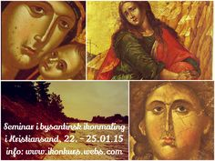 Byzantine Icon painting seminar in Kristiansand, Southern Norway. 22 - 25.01.15