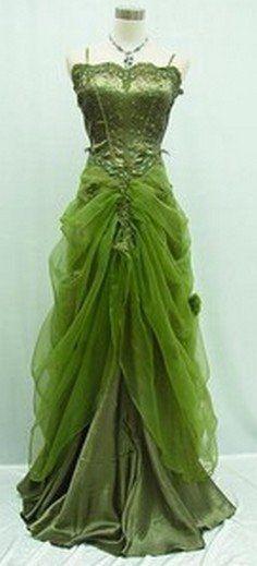 Princess and the Frog wedding dress