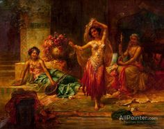 Hans Zatzka Harem Entertainers print for sale. Shop for Hans Zatzka Harem Entertainers painting and frame at discount price, ships in 24 hours. Cheap price prints end soon. Dance Oriental, Dance Paintings, Oil Paintings, Art Pictures, Photos, Painting Pictures, Oil Painting Reproductions, Classical Art, Dance Art