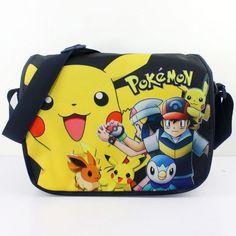 Brave Anime Pokemon Pikachu Backpack Pocket Monster Cosplay Kawaii Shoulder Bag Children Plush Backpack Costume Props