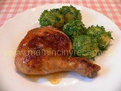 Máslové kuře s bramborami