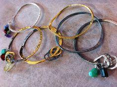 Hand hummer bracelets in silver