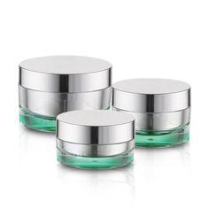 J08-3 Round Acrylic Jars