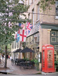 Six Pence Pub - Savannah, Georgia