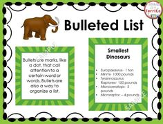 Create a booklet about Dinosaurs! Students work on non-fiction text features by identifying and then using the features in their own writing! #TpT #InformationalText