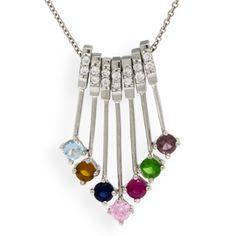 Always & Forever Collection Family Pendant 14K :: Ben Bridge Jeweler