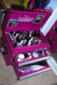 Pink Tool Box uses - How People use our Pink Tool Boxes