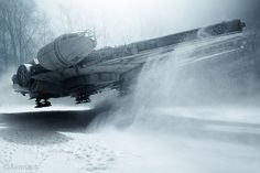 All sizes | The Millennium Falcon Descending | Flickr - Photo Sharing!