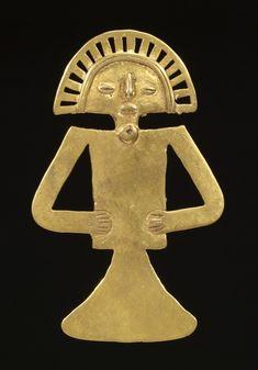 Figural Pendant. Colombia-Tolima.ca.700-1000