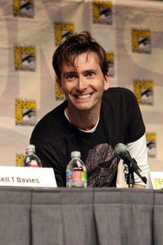 @ Comic Con - love that smile!