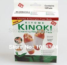 Retail box  100pcs Cleansing Detox Foot Kinoki Pads  Cleanse & Energize Your Body(1lot=5Box=100pcs=50pcs Patches+50pcs Adhesive)