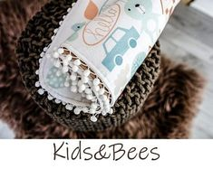 For unique babies-baby blankets, baby bedding. by KidsandBeesBaby Baby Bedding, Unique Baby, Textile Design, My Works, Bee, Blanket, Unique Jewelry, Handmade Gifts, Fabric