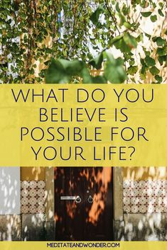 So many people say that happiness and living the good life is impossible. What do you believe? Your beliefs create your reality. Read this post to find out how. #meditateandwonder #lawofattraction #manifestation #beliefs #selflovetips