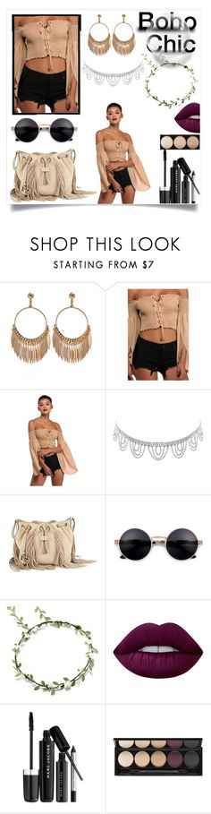 """""""Boho"""" by kitty-cat130 ❤ liked on Polyvore featuring Humble Chic, Diane Von Furstenberg, Lime Crime, Marc Jacobs and Witchery"""