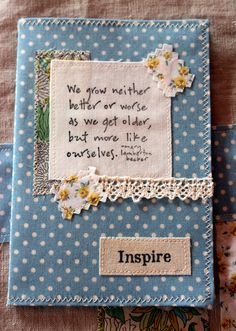 Liberty Notebook 1 | This was such fun to make - using vinta… | Flickr