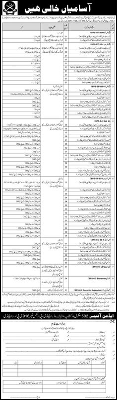 Pakistan Army 502 Central Workshop EME Jobs 2017 In Rawalpindi For Supervisors And Fitters http://www.jobsfanda.com/pakistan-army-502-central-workshop-eme-jobs-2017-rawalpindi-supervisors-fitters/