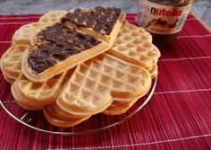 Waffles, Pancakes, Cake Cookies, Nutella, Sandwiches, Paleo, Food And Drink, Drinks, Breakfast