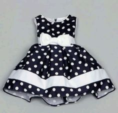 Shop for Dorissa Infant Girl's Dotty Polka Dot Dress . Get free delivery On EVERYTHING* Overstock - Your Online Children's Clothing Outlet Store! Toddler Dress, Toddler Outfits, Baby Dress, Kids Outfits, Dress Girl, Little Girl Dresses, Girls Dresses, Baby Overall, Girl Doll Clothes