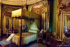 Palácio de Queluz: D. Pedro I nasceu e morreu neste quarto