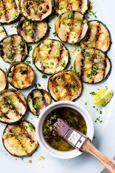 This Lemon Garlic Grilled Zucchini
