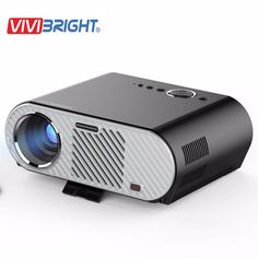 [Visit to Buy] Original Vivibright GP90 Projector 3200 Lumens 1280*800 LED lamp LCD Projector for Home Theater Meeting HDMI/VGA/USB/AV Beamer #Advertisement