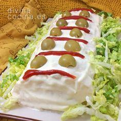 Brazo de gitano de puré de patatas - Divina Cocina