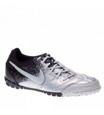 Nike 5 Bomba Indoor Soccer Boot  Silver/Black