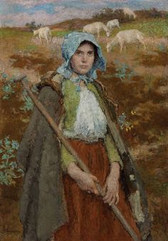 The Goatherd by Gari Melchers
