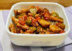 Piept de pui cu legume in sos de soia Asian Recipes, Ethnic Recipes, 30 Minute Meals, Kung Pao Chicken, Stir Fry, Healthy Tips, Food And Drink, Cooking Recipes, Chinese