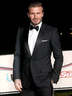 Star Tracks: Thursday, December 11, 2014   SOLDIER ON   David Beckham, looking perfectly polished in black tie, shows his support at the A Night of Heroes: The Sun Military Awards in London on Wednesday.