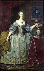 A Marquesa de Pombal, um exemplo de uma nobre por casamento.