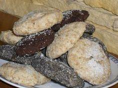 Mákos, mandulás, kókuszos, lenmagos kekszek :: dietaénigyszeretlek.hu Healthy Fats Foods, Fat Foods, Paleo, Cookies, Chocolate, Fitt, Crack Crackers, Biscuits, Beach Wrap