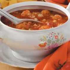 SPICY SEAFOOD BISQUE!! make for sunday dinner!