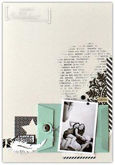 Julie Blanc pour Scrapdeco - Page enveloppe
