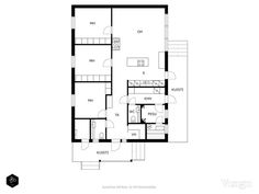 Small House Plans, Floor Plans, How To Plan, Buildings, Little House Plans, Tiny House Plans, Small House Layout, Floor Plan Drawing, House Floor Plans