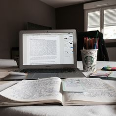 book, coffee, and motivation-bilde Study Areas, Study Space, Study Desk, Tittle Ideas, Study Organization, Pretty Notes, Work Motivation, Study Hard, Study Notes