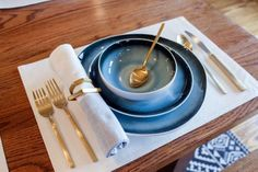 Gold+flatware+in+the+Zan+family's+remodeled+dining+room,+as+seen+on+Fixer+Upper.