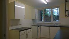 Complete rewire, decorating, tiling, 10 unit kitchen & casement window reinstallation