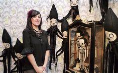 Artist: Camille Rose Garcia ~ Squidley Installation