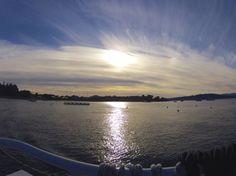 Baie de Cannes au soleil couchant - YV - © Ville de Cannes
