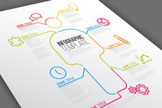 Infographic Template - Figure by Orson on Creative Market