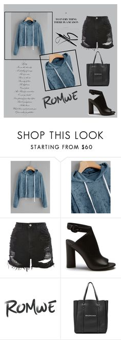 """Bez naslova #84"" by merima-jamakovic ❤ liked on Polyvore featuring Topshop and Balenciaga"