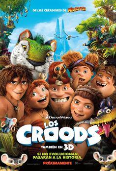 No dejes de ver a esta prehistórica familia en tu cine favorito, pre-estrena este 15 de marzo. ¡No te pierdas a Los Croods!