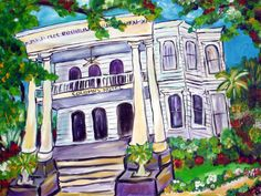 The Columns Hotel of New Orleans Painting 475