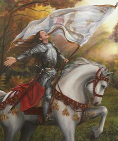 The exhaltation of Joan of Arc by dani lachuk on Deviantart