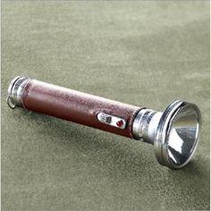 Vintage flashlight