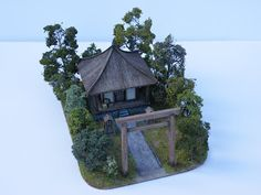 Jimbibblyblog: August 2011 Samurai terrain (roadside shrine) 28mm lots of other ideas on this blog