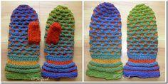 Votter i Kauni garn - Mittens Kauni yarn