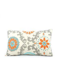 Pinwheel Reversible Lumbar Pillow - Chloe & Olive